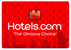 Hotels.com gift card makes a great travel gift idea for travelers who have everything