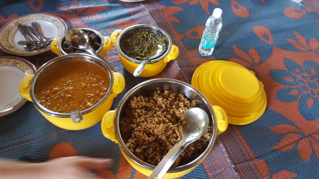 Curries in Zanzibar