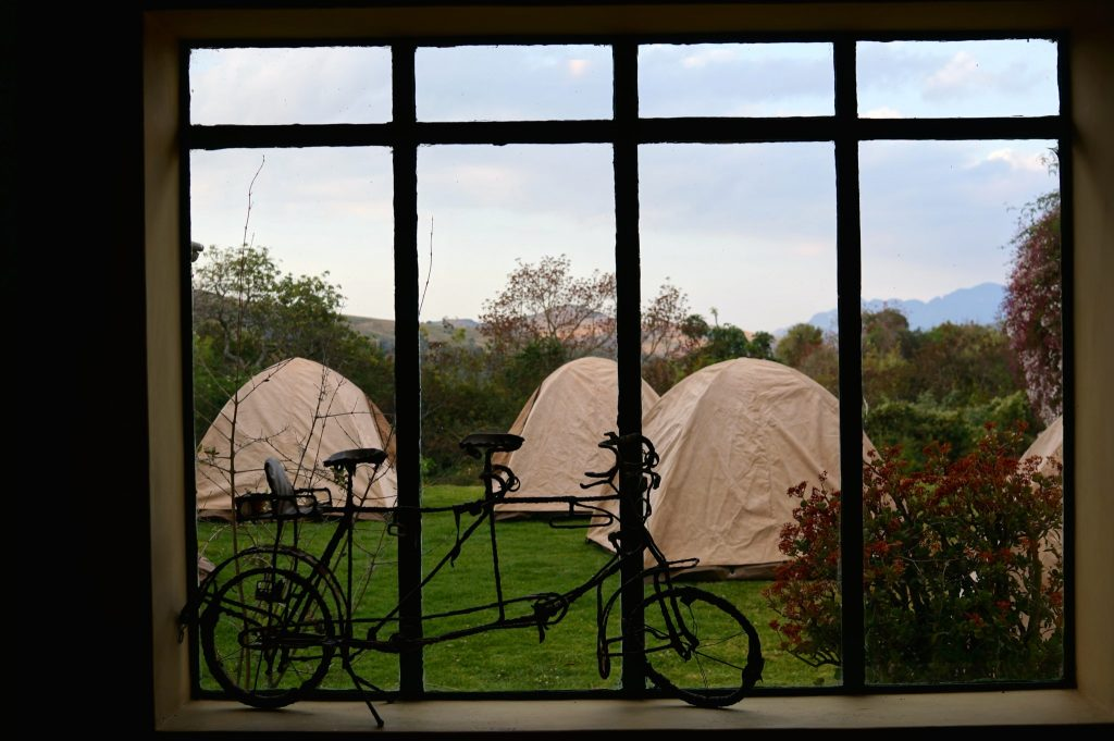 Oasis Overland tents in Chimanimani Zimbabwe
