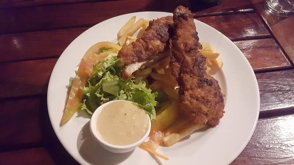 Warthog schnitzel