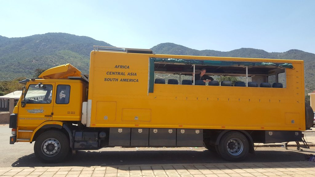 Oasis Overland truck in Tanzania