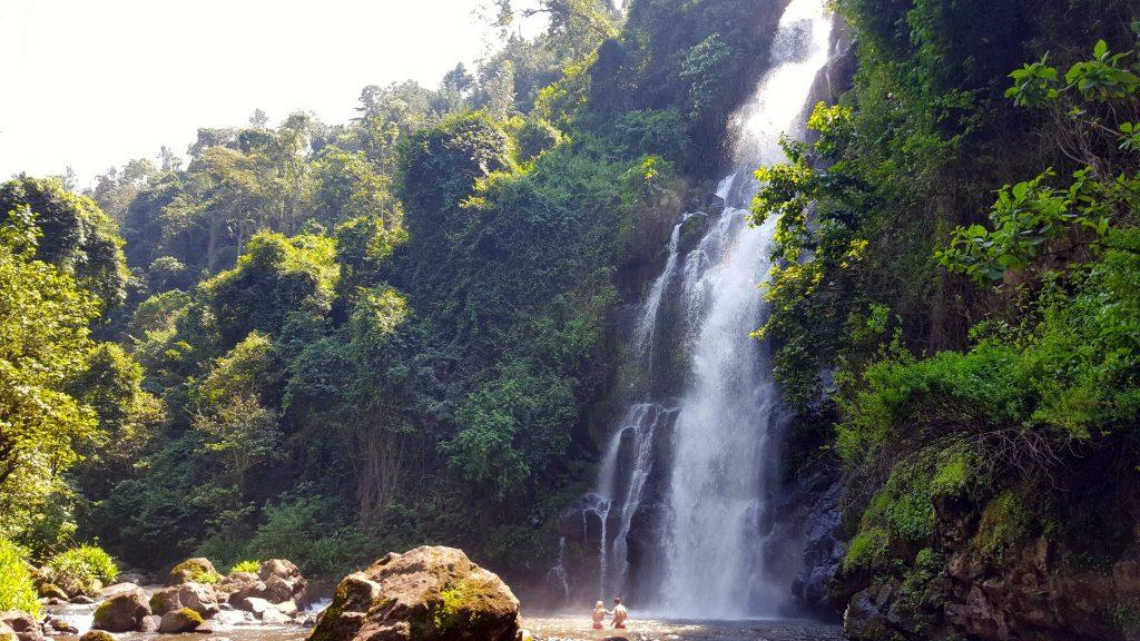 Ndoro waterfall Marangu Tanzania