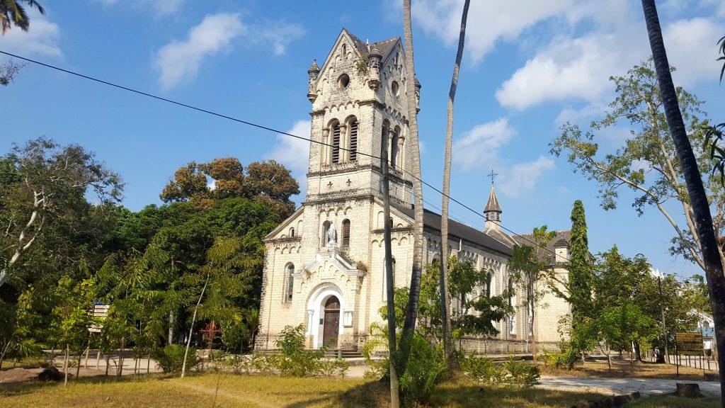 Holy Ghost Church Bagamoyo Tanzania