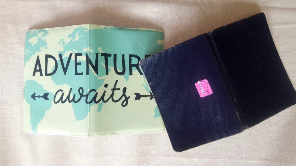 Passport and passport cover