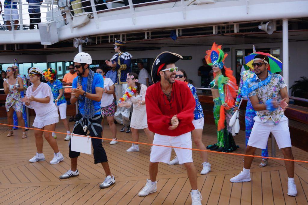 Activities on the Pullmantur Monarch cruise