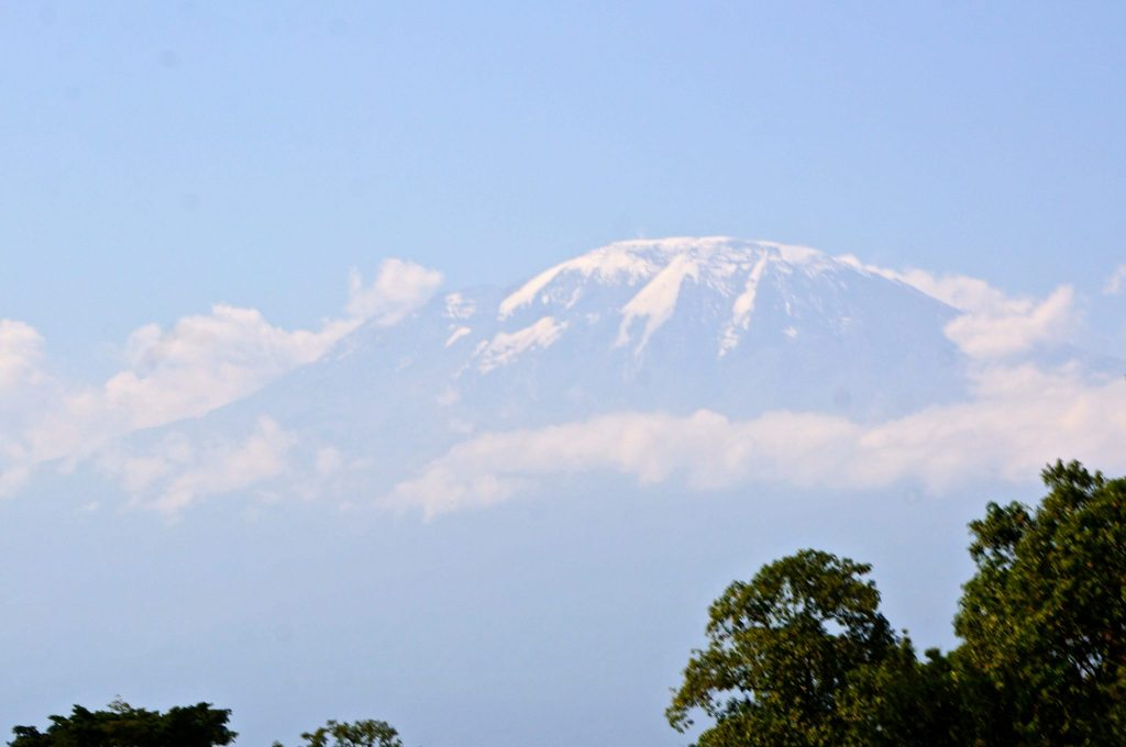 Mount Kilimanjaro from Marangu