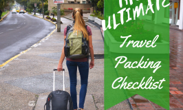 The Ultimate Travel Pack List and Packing Tips