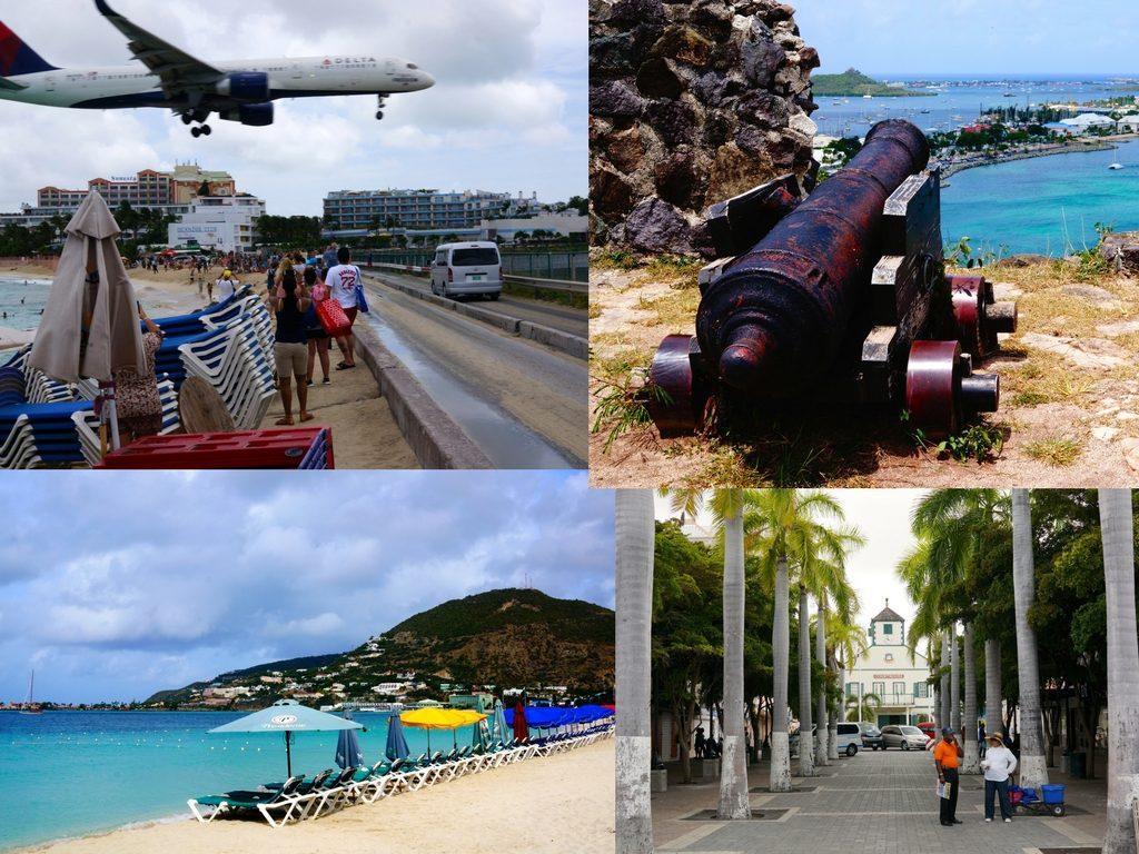 cruise port stop in St Maarten