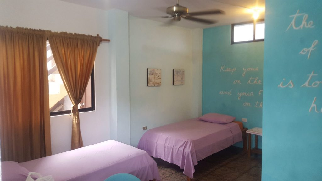 Twin Room at Hotel Suiza, budget accommodation in Galapagos