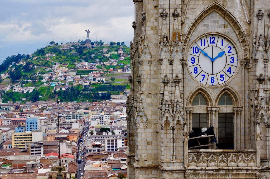 Basilica del Voto Nacional is just one of the many things to do in Quito Ecuador