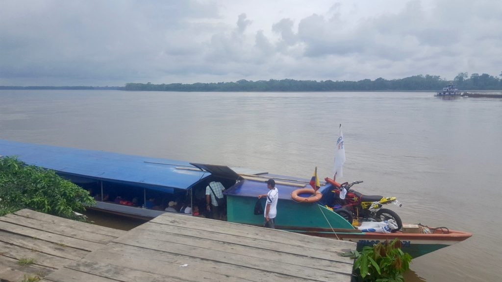Daily Scheduled Napo river boat from Coca to Nuevo Rocafuerte