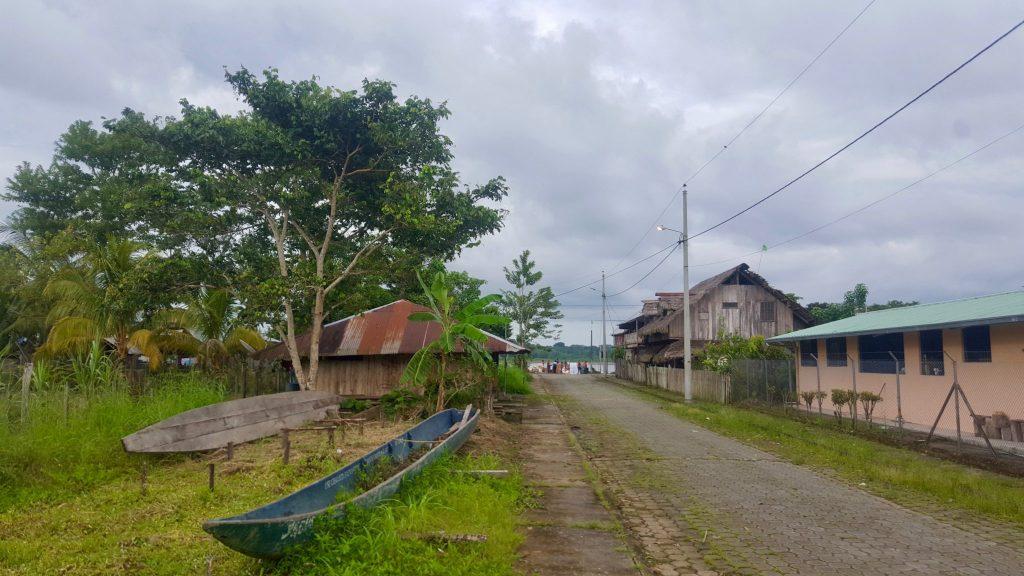 Nuevo Rocafuerte village on Napo River