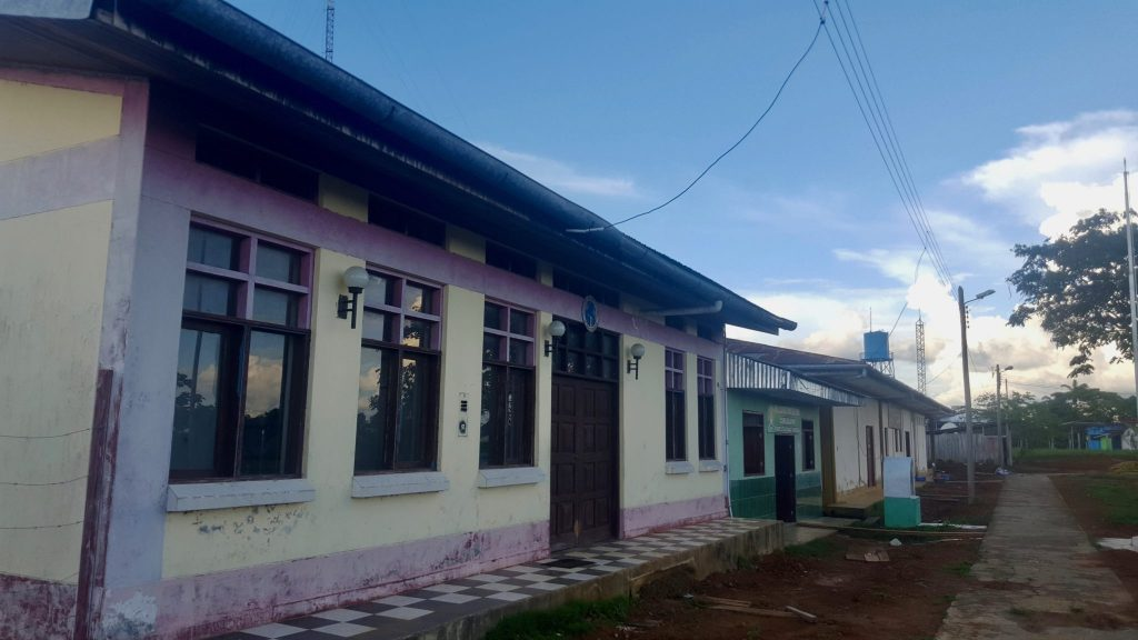 Police station and immigration office of Pantoja Peru
