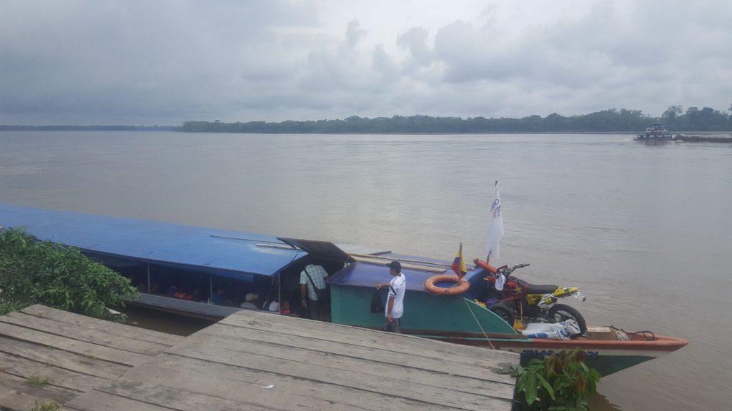 Fast boat from Coca to Nuevo Rocafuerte
