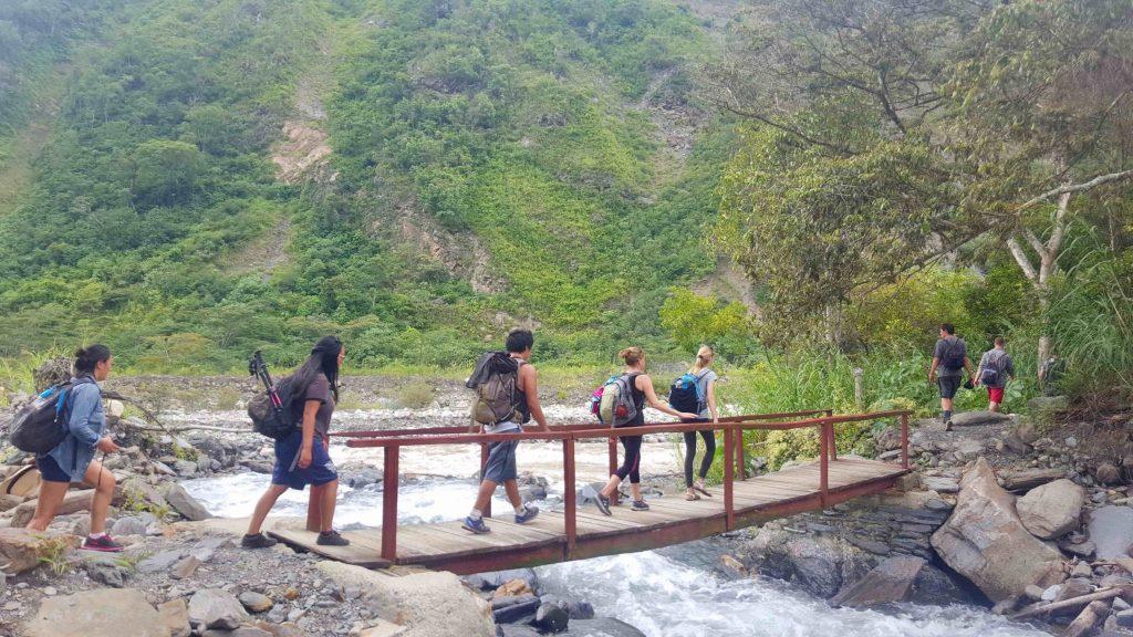 Bridge Crossing of Jungle Trek