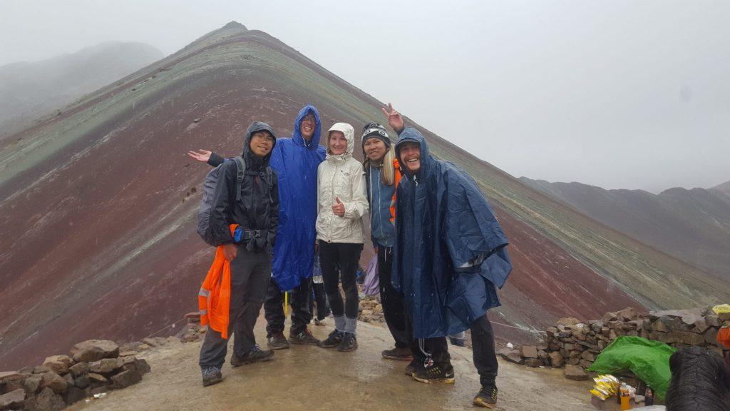 Rainbow mountain Peru photo