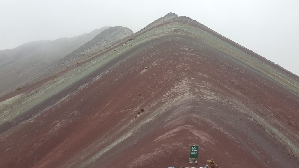 Rainbow Mountain Peru without editing