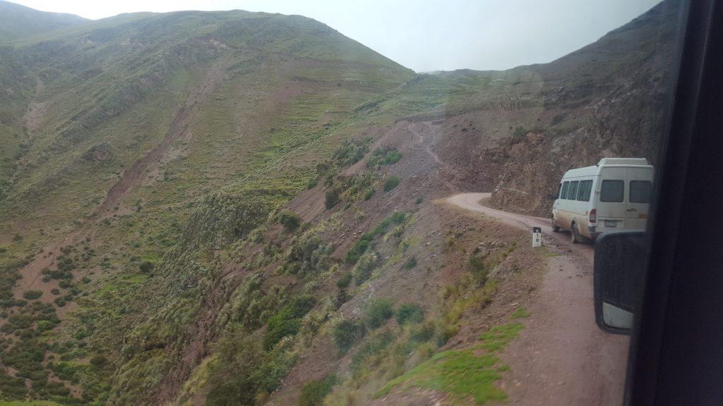 Road to Rainbow Mountain Peru