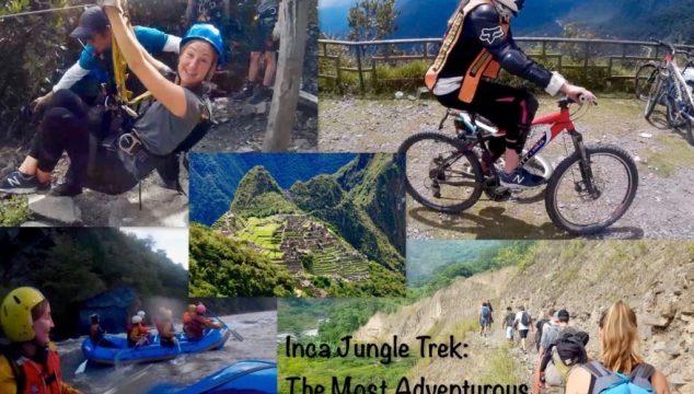 Inca Jungle Trek: The Most Adventurous Route to Machu Picchu