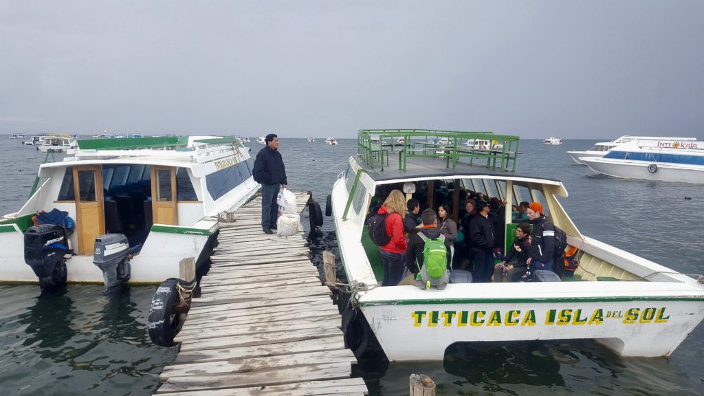 Copacabana to Isla del Sol ferry