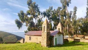 Church on Isla del Sol Bolivia