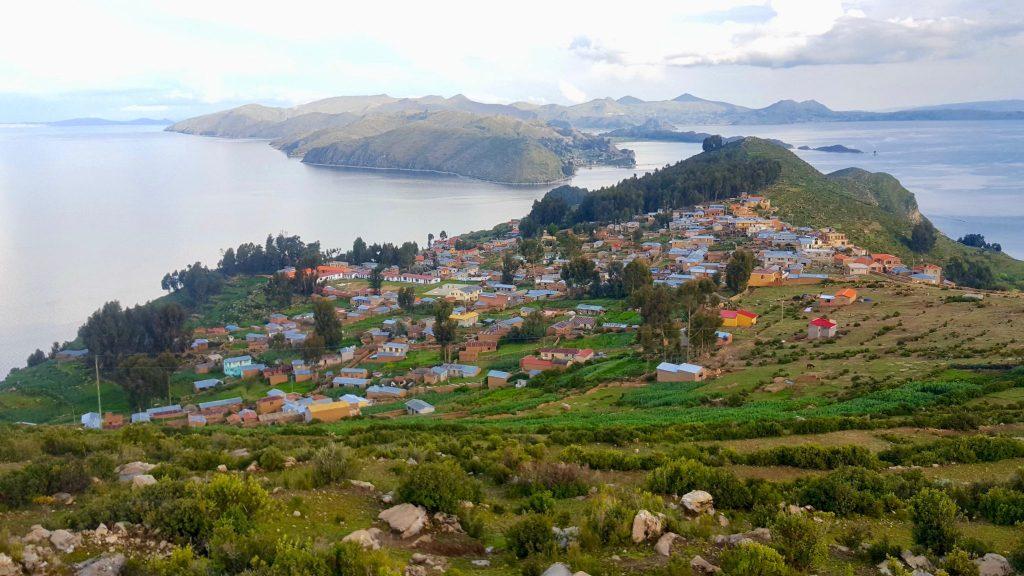 Yumani community on Isla del Sol Bolivia