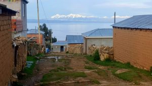 Yumani local houses on Isla del Sol
