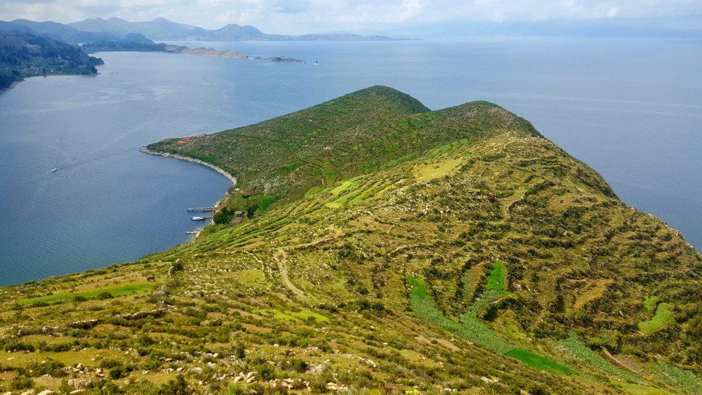 Isla del Sol South tip of island