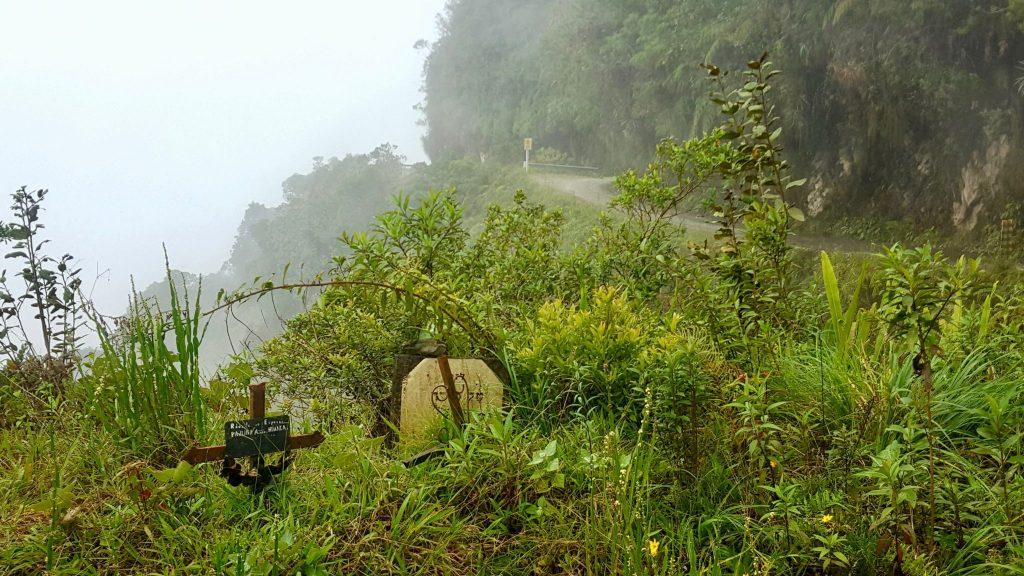 Death road grave site