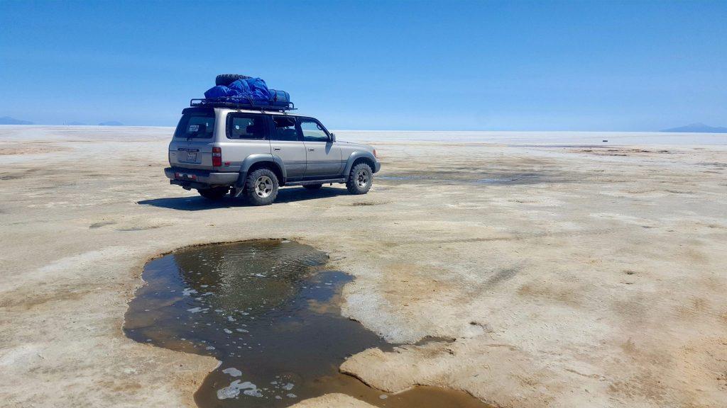 ojos de agua Bolivia salt flats