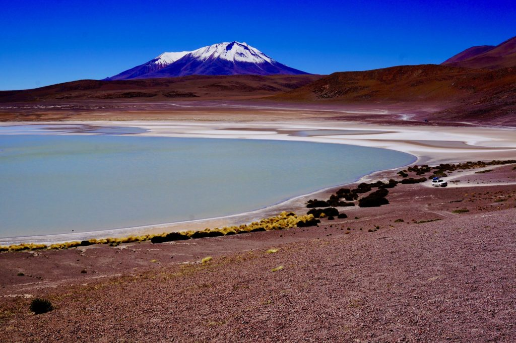 Laguna Verde during 3-day Bolivia Salt Flat Tour