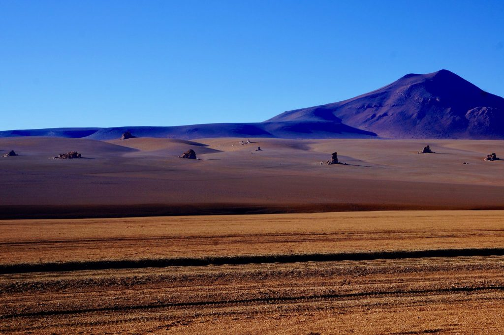 Salvador Dali Desert during Bolivia Salt Flat tour