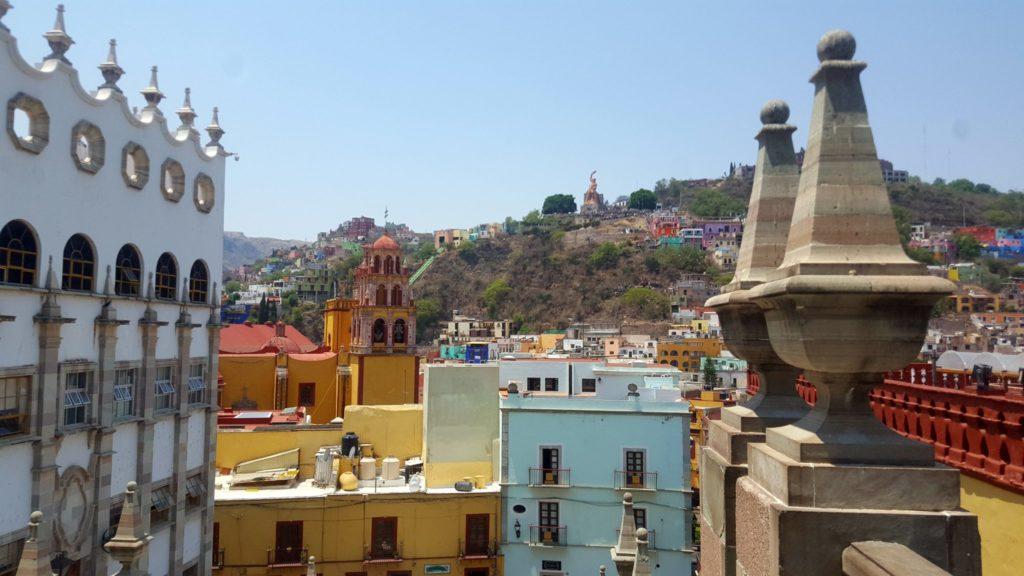 Guanajuato viewpoint from the Guanajuato University