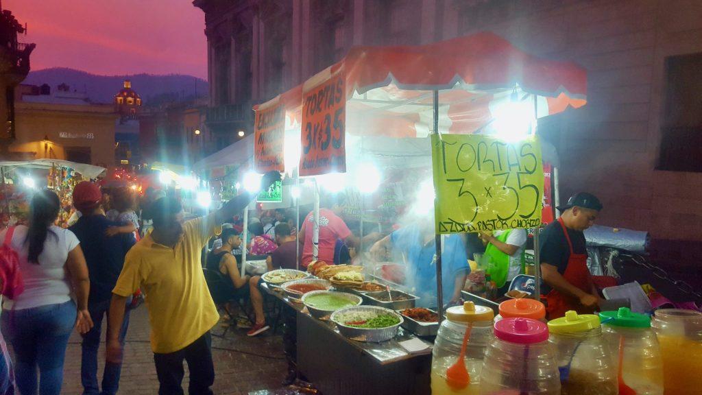 Street food in Guanajuato