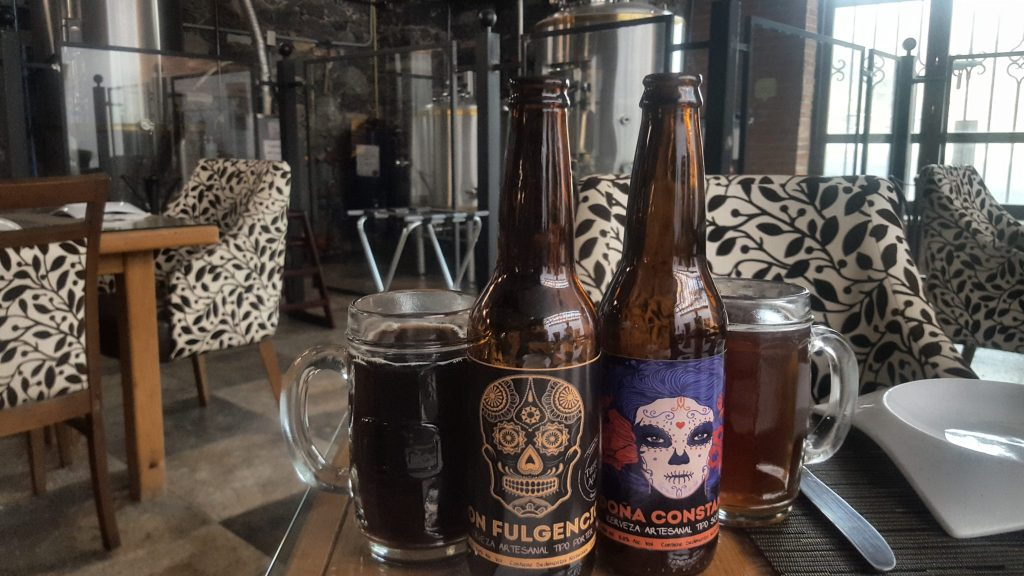 Craft Beer in Guanajuato at the Tierra Adentro Cerveceria Artesanal brewpub and brewery