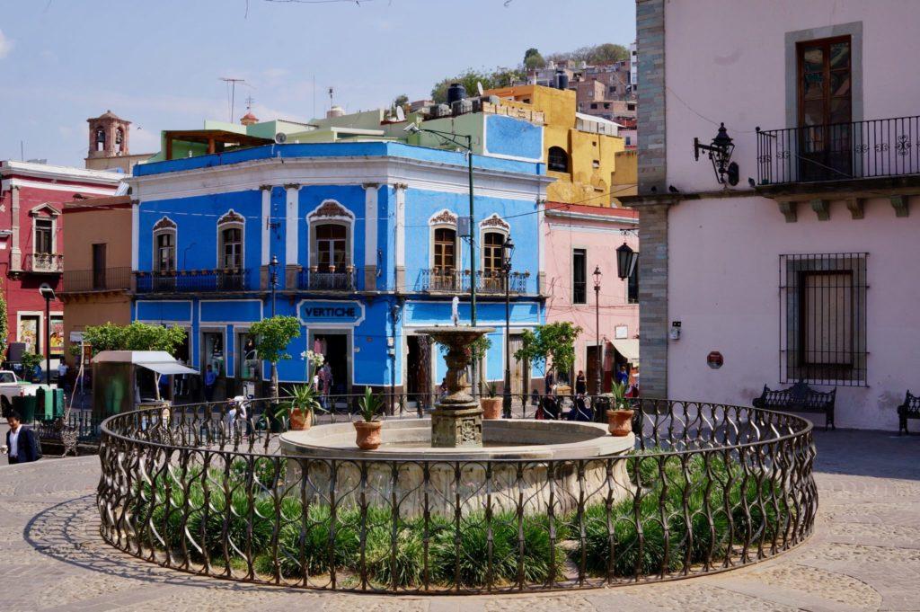 plaza in Guanajuato Mexico