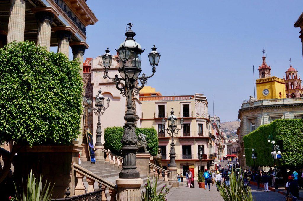 Pedestrian streets of Guanajuato