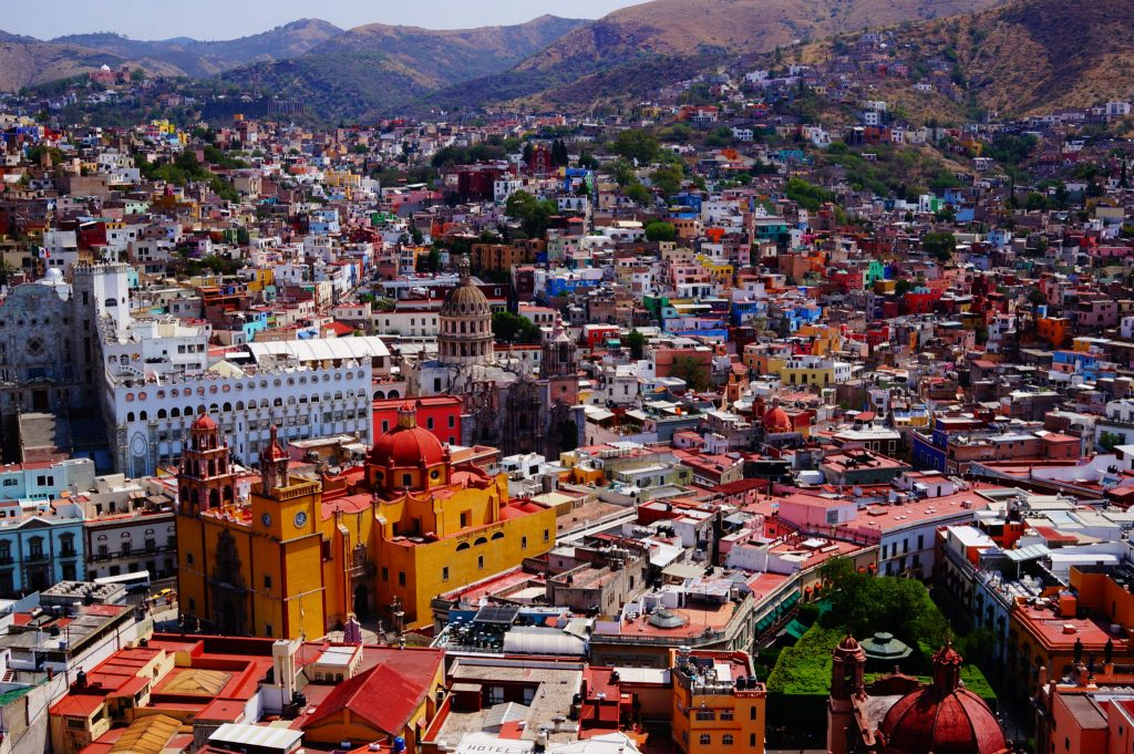 Guanajuato viewpoint (mirador) from the Pipila monument