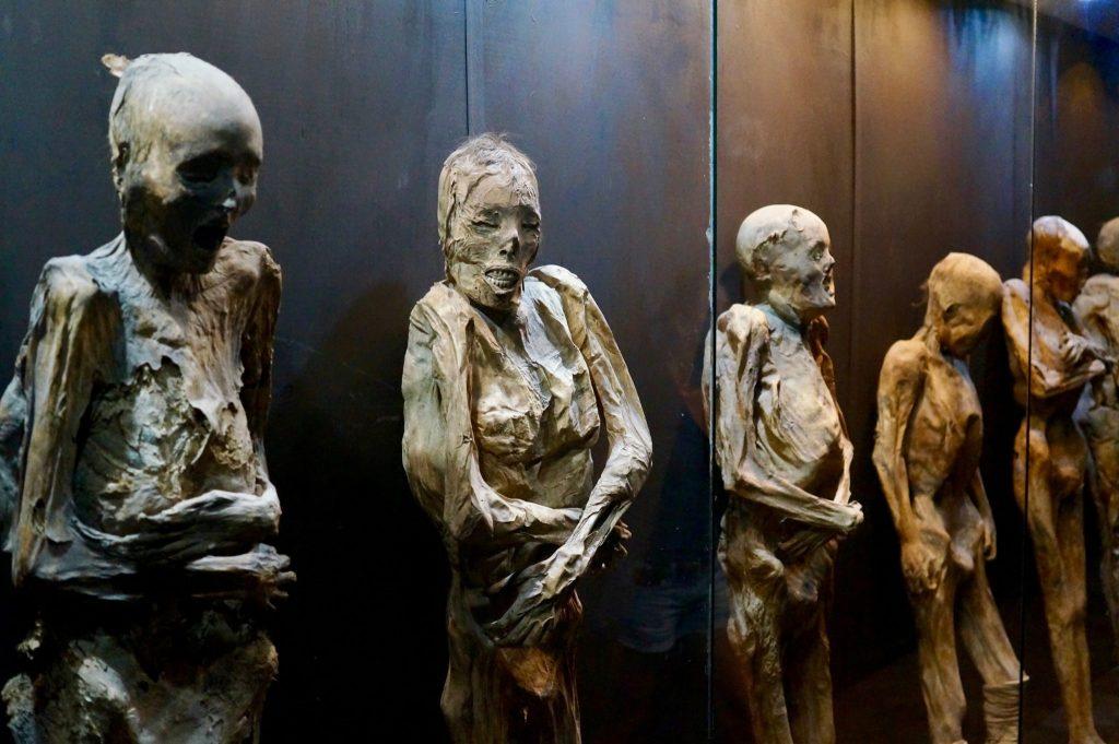 Museo de las Momias (Mummy Museum) Guanajuato Mexico