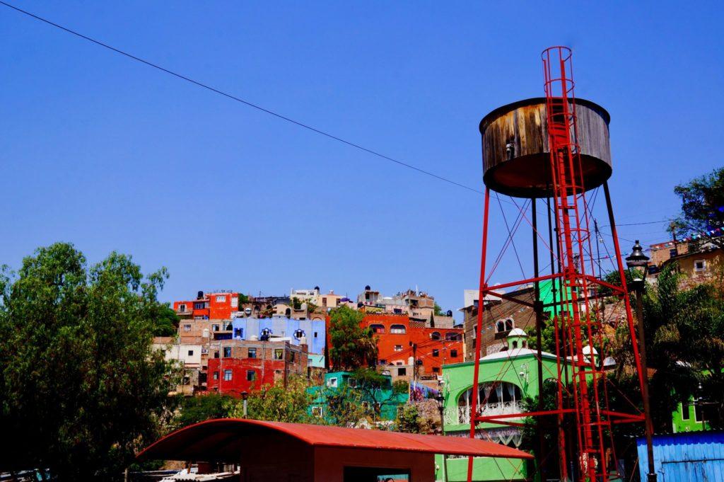 Guanajuato water tower