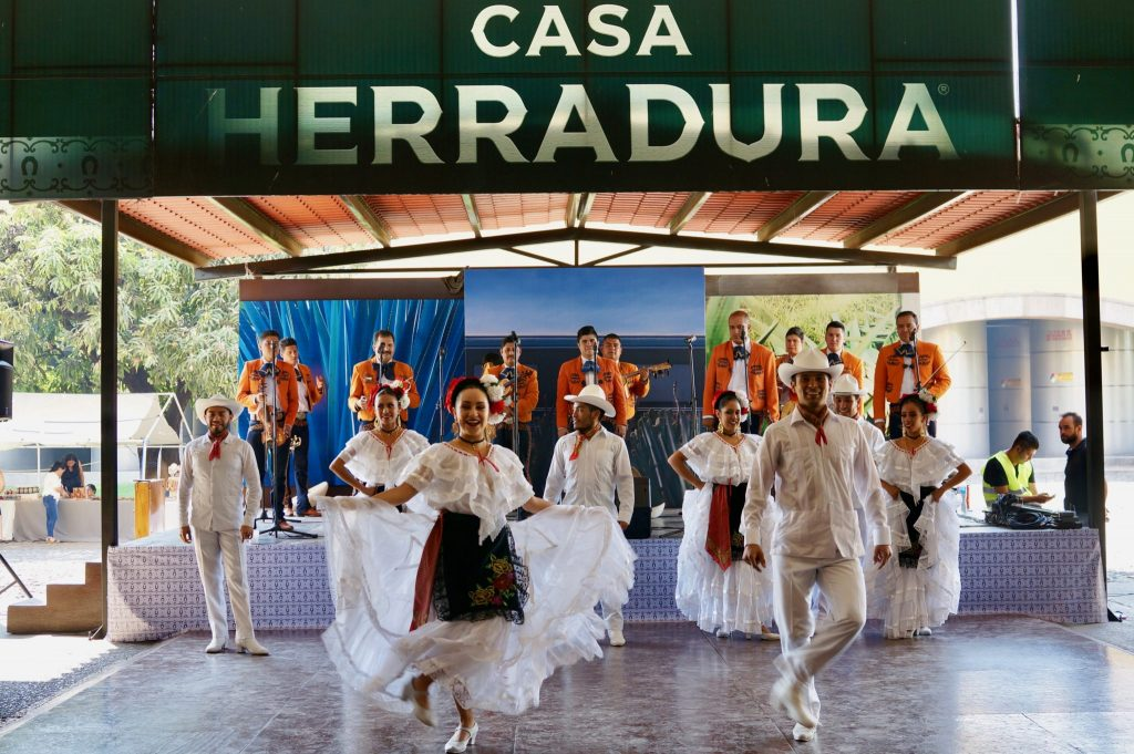 Cultural dance and mariachi at Casa Herradura
