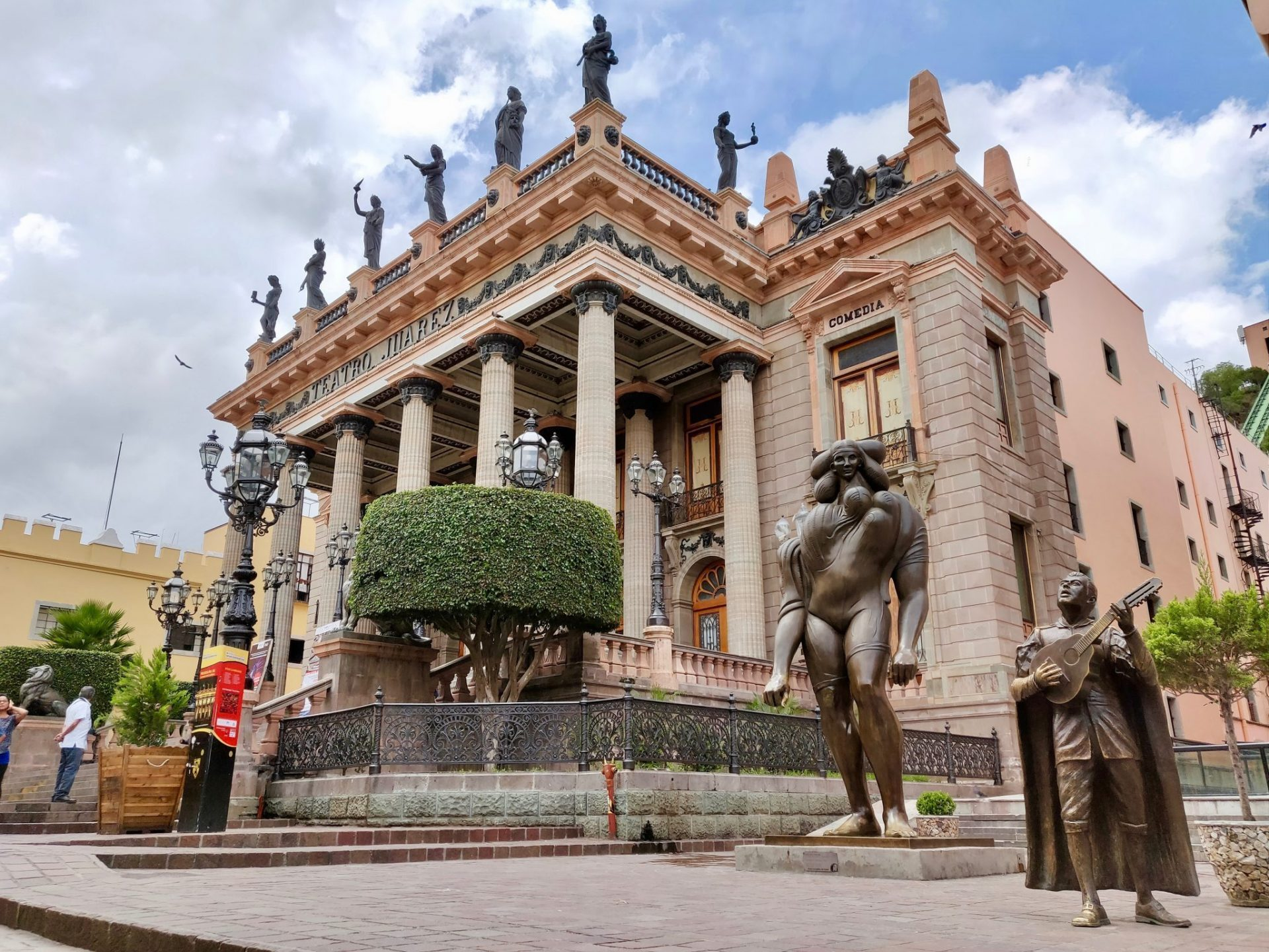 Teatro Juarez Theatre in Guanajuato Mexico