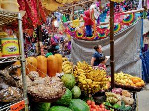fruit at Hildago market guanajuato