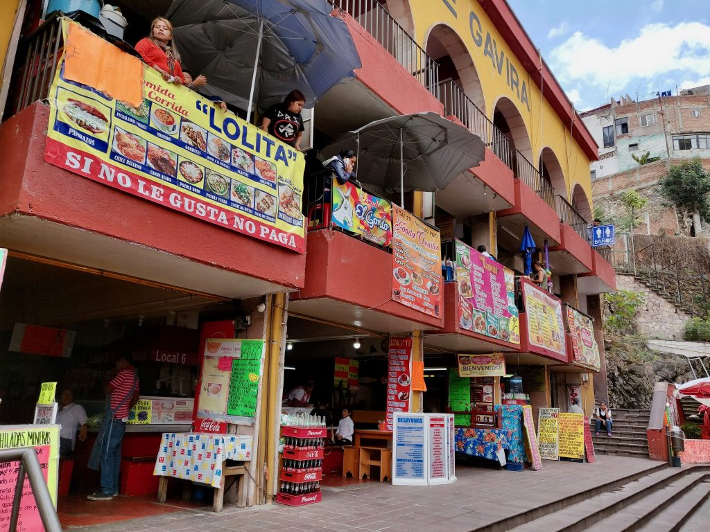 Guanajuato restaurants near market