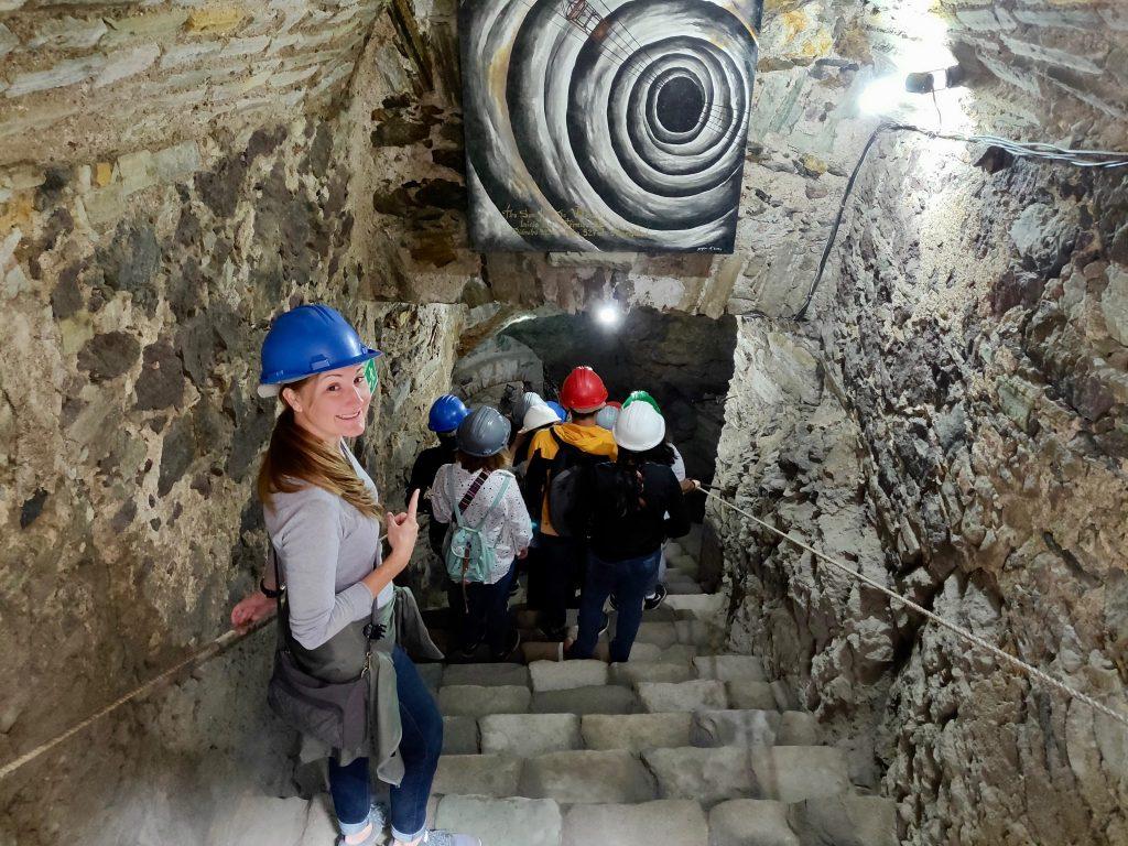 Touring Valenciana mine Guanajuato