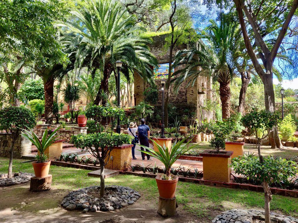 Hacienda San Gabriel de Barrera gardens Guanajuato
