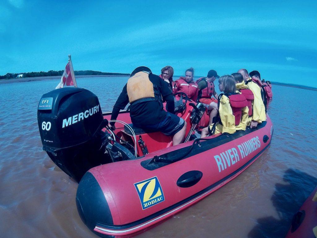 Shubenacadie River Runners tidal bore rafting review