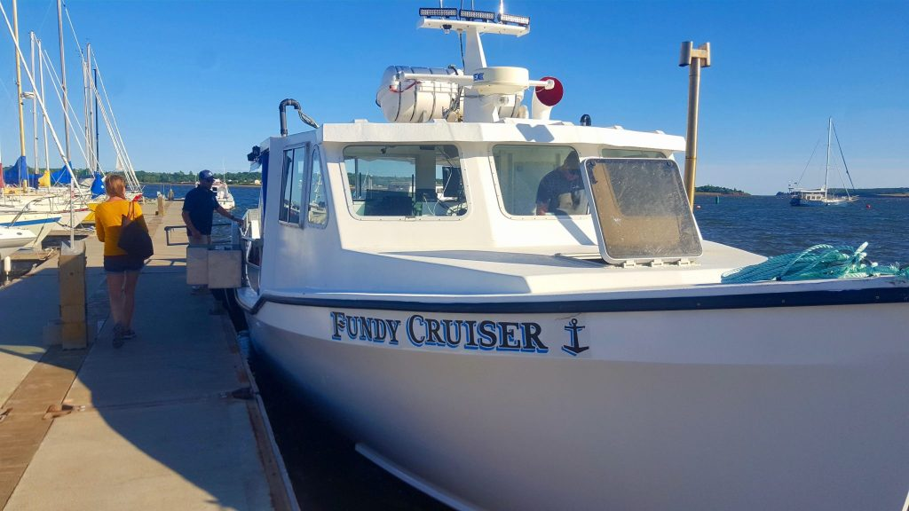 Fundy Cruiser Island Boat Adventures lobster boil boat tour in PEI