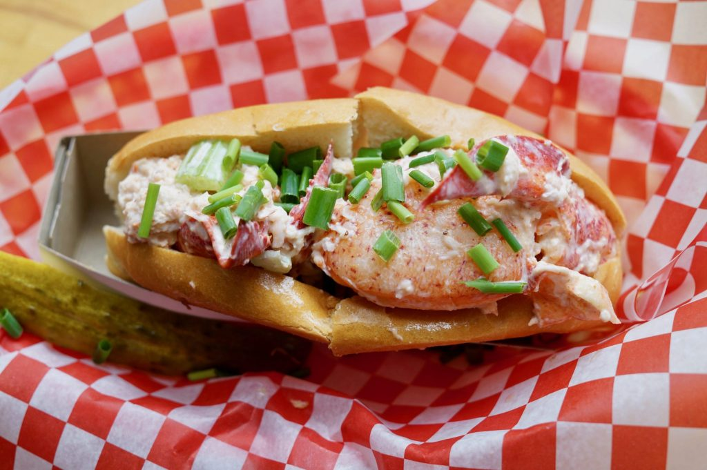 The Local Lobster Roll at Dave's Lobster Charlottetown PEI