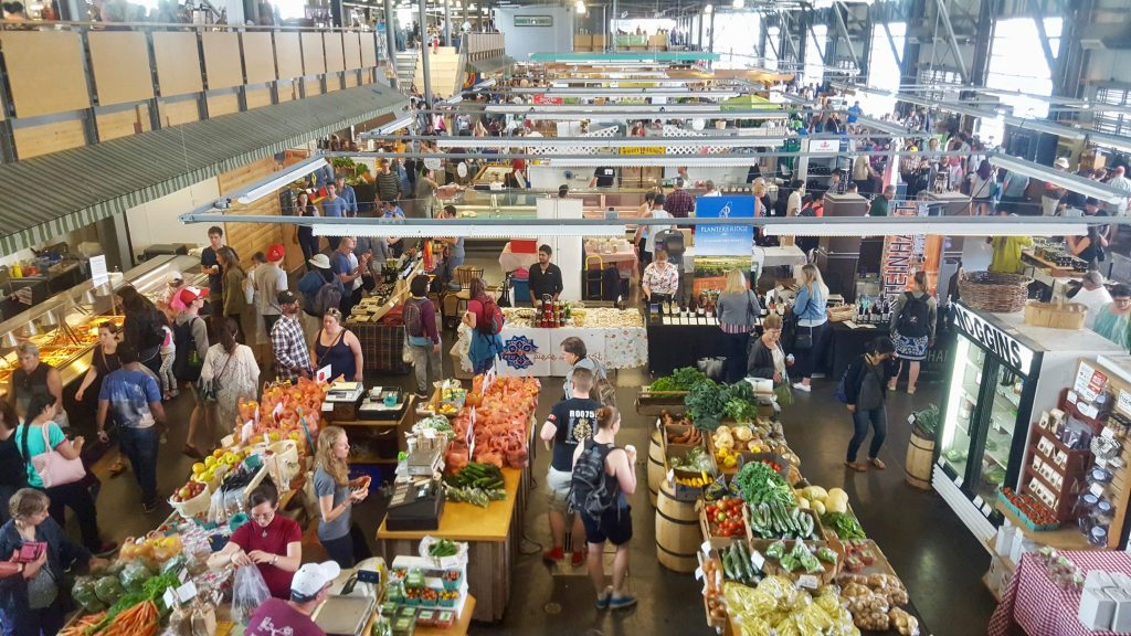Seaport Farmers Market Halifax Nova Scotia is a fun thing to do in Halifax on a budget